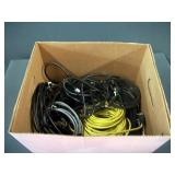 BOX: ASSORTED CABLE