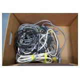 BOX: ASSORTED TEST CABLES