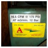 16.5 CFM 175 PSI COMPRESSOR