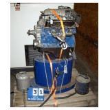 PALLET: REMANUFACTURED FORD ENGINE 3.0 V6