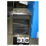 FISHER SCIENTIFIC STAINLESS STEEL CABINET