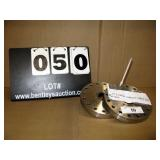 """STAINLESS STEEL 6"""" CONFLAT REDUCER W/ 2-2/4"""""""