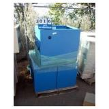 PALLET: EMCAR BLUE METAL CABINETS (6X MONEY)