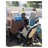 CASTERED CHAIRS (6X MONEY)