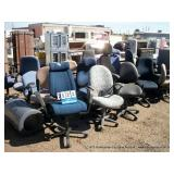 CASTERED CHAIRS (8X MONEY)