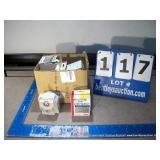 BOX: ASSORTED DYNMO ACCESSORIES