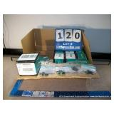 BOX: PANDUIT MINI-COM FIBER OPTIC MODULES