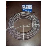 ROLL: BRAIDED STAINLESS HOSE