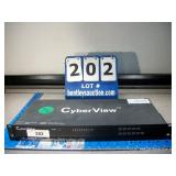 CYBER VIEW CAT5-08 SWITCH