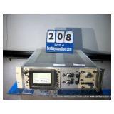 HP 183D OSCILLOSCOPE W/ 1835A AMP / 1840A TIME