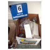 BOX: MISC SALT & PEPPER SHAKERS