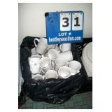 MILK CRATE - COFFEE CUPS