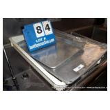 FLAT PANS (2X MONEY)