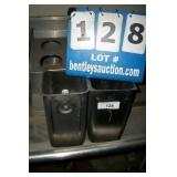 LOT: 2 STAINLESS BINS