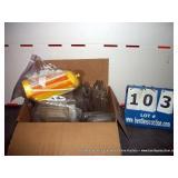 BOX: ASSORTED PLASTIC LIDS
