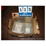 BOX: ASSORTED FOOD HOLDERS
