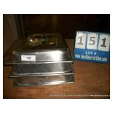 STAINLESS PAN COVERS (3X MONEY)