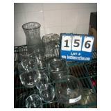 LOT: ASSORTED GLASSES