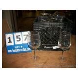 MILK CRATE: WINE GLASSES