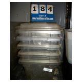 PLASTIC BINS (5X MONEY)
