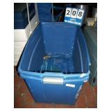 PLASTIC BINS (2X MONEY)