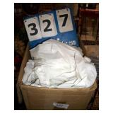 BOX: PLASTIC TABLE COVERS
