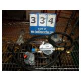 ASSORTED PROPANE GAS REGULATORS (3X MONEY)