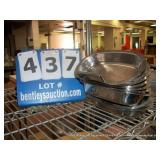 STAINLESS STEEL BOWLS (10X MONEY)