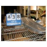 LOT: (2) STAINLESS STEEL PLATES