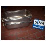 STAINLESS STEEL FOOD WARMER PANS (4X MONEY)