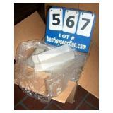 BOX: PLASTIC CARD HOLDERS