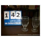 LOT: (3) DOZEN GLASS LIBBEY CUPS