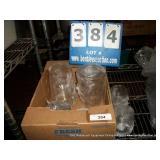 BOX: DECORATIVE GLASSWARE