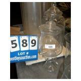 DECORATIVE GLASSWARE - JAR
