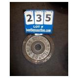 BARBELL 25 LB. METAL WEIGHT PLATE