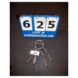 PAIR OF WEIGHT BAR CLIPS