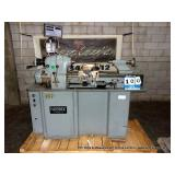 HARDINGE DOVETAIL BED LATHE MODEL HLV