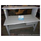 METAL WORKBENCH (DRAWER WILL NOT OPEN)