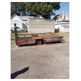 Utility trailer - needs new tire before hauling