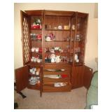 All Contents of China Hutch