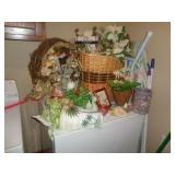 Decor baskets, wall hangings, and more