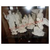Lenox China nativity scene set
