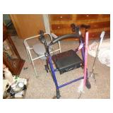 Drive walkr, canes, and portable commode