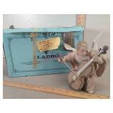 Lladro Angel Nino Violonchelo figurine with box -