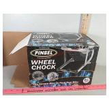 New in box wheel chock