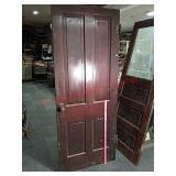 """>32"""" vintage wood door"""
