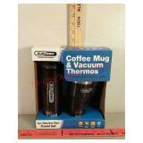 New subzero coffee mug and vacuum thermos