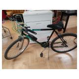 "Huffy titanium mens 24"" bike bicycle 10 spees"