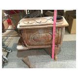 Antique liberty stove