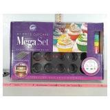 New Wilton 311 piece cupcake mega set